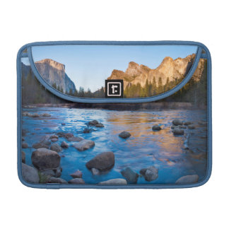 USA, California. Rocky Reflections In Merced Sleeve For MacBooks