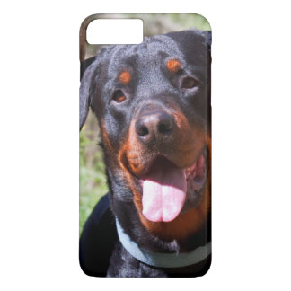 USA, California. Rottweiler By A Tree iPhone 7 Plus Case