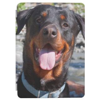 USA, California. Rottweiler Smiling iPad Air Cover