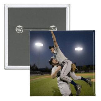 USA, California, San Bernardino, baseball 10 15 Cm Square Badge