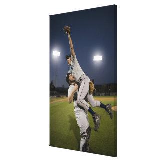 USA, California, San Bernardino, baseball 10 Canvas Print