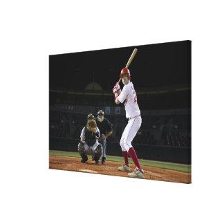 USA, California, San Bernardino, baseball 12 Canvas Print