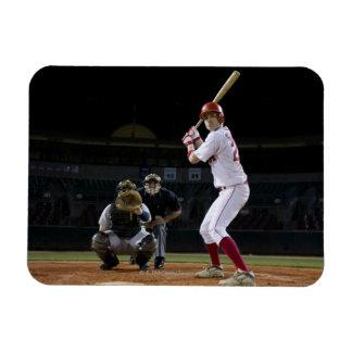 USA, California, San Bernardino, baseball 12 Rectangular Photo Magnet