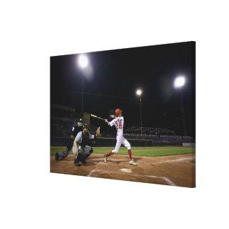 USA, California, San Bernardino, baseball 2 Canvas Print