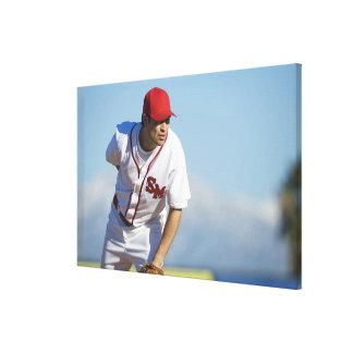 USA, California, San Bernardino, baseball 3 Canvas Print