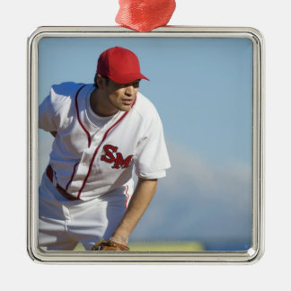 USA, California, San Bernardino, baseball 3 Christmas Ornament