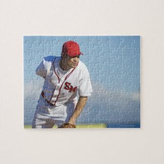 USA, California, San Bernardino, baseball 3 Jigsaw Puzzle