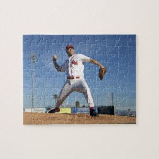 USA, California, San Bernardino, baseball 4 Jigsaw Puzzle