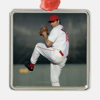 USA, California, San Bernardino, baseball 5 Christmas Ornament
