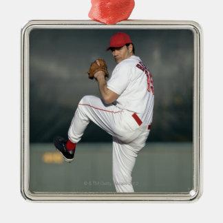 USA, California, San Bernardino, baseball 5 Christmas Ornament