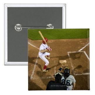 USA, California, San Bernardino, baseball 7 15 Cm Square Badge