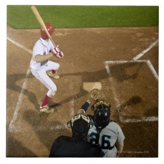 USA, California, San Bernardino, baseball 7 Large Square Tile