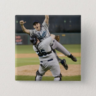 USA, California, San Bernardino, baseball 8 15 Cm Square Badge