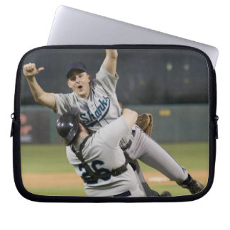 USA, California, San Bernardino, baseball 8 Laptop Sleeve