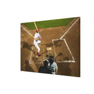 USA, California, San Bernardino, baseball 8 Stretched Canvas Print