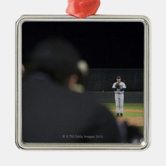 USA, California, San Bernardino, baseball game, Christmas Ornament