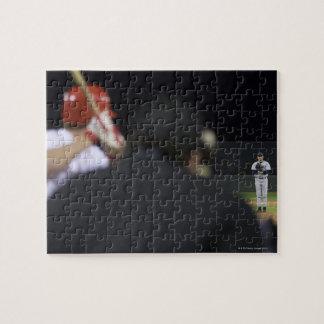 USA, California, San Bernardino, baseball game, Jigsaw Puzzle