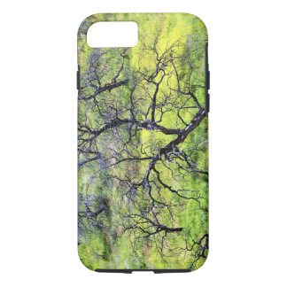 USA, California, San Diego. A burnt oak forest iPhone 8/7 Case