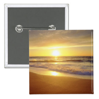 USA, California, San Diego. La Jolla Shores 15 Cm Square Badge