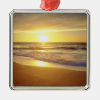 USA, California, San Diego. La Jolla Shores Christmas Ornament