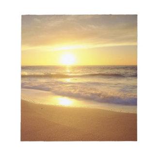USA, California, San Diego. La Jolla Shores Notepad