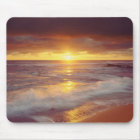 USA, California, San Diego. Sunset Cliffs beach Mouse Mat