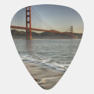 USA, California, San Francisco.  A scenic view Guitar Pick