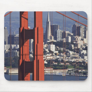 USA, California, San Francisco. Aerial view of Mouse Mat