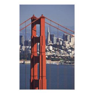 USA, California, San Francisco. Aerial view of Photographic Print