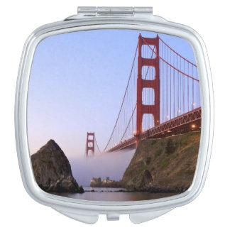 USA, California, San Francisco. Golden Gate 3 Compact Mirror