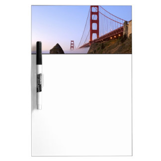 USA, California, San Francisco. Golden Gate 3 Dry-Erase Whiteboard