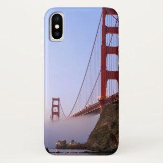 USA, California, San Francisco. Golden Gate 3 iPhone X Case
