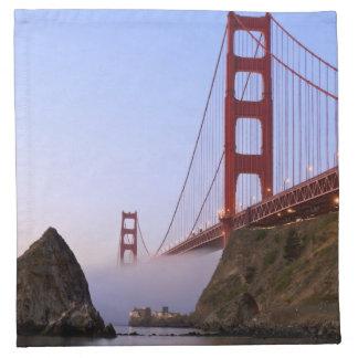 USA, California, San Francisco. Golden Gate 3 Napkin