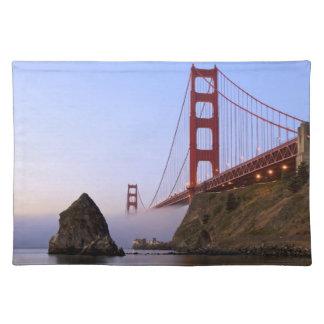 USA, California, San Francisco. Golden Gate 3 Placemat