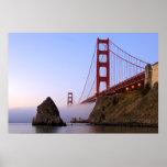 USA, California, San Francisco. Golden Gate 3 Poster