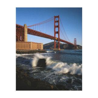 USA, California, San Francisco, Golden Gate Gallery Wrapped Canvas