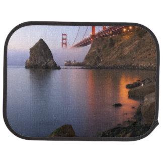 USA, California, San Francisco. Golden Gate Car Mat