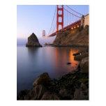 USA, California, San Francisco. Golden Gate Postcard