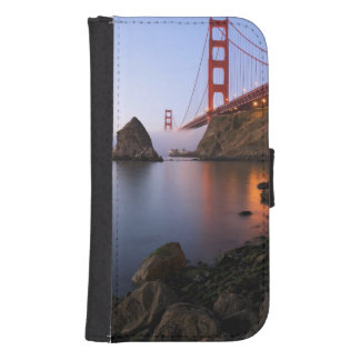 USA, California, San Francisco. Golden Gate Samsung S4 Wallet Case