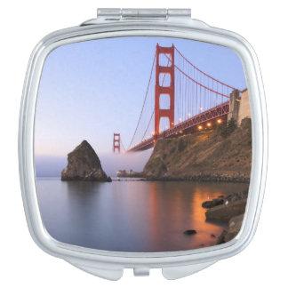 USA, California, San Francisco. Golden Gate Vanity Mirrors