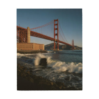 USA, California, San Francisco, Golden Gate Wood Wall Art