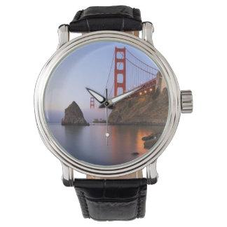 USA, California, San Francisco. Golden Gate Wristwatch