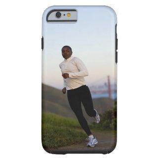 USA, California, San Francisco, Woman jogging, Tough iPhone 6 Case