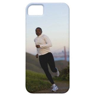 USA, California, San Francisco, Woman jogging, iPhone 5 Covers
