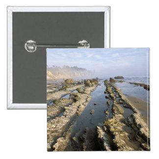 USA, California, Santa Barbara, Henry's Beach. 15 Cm Square Badge