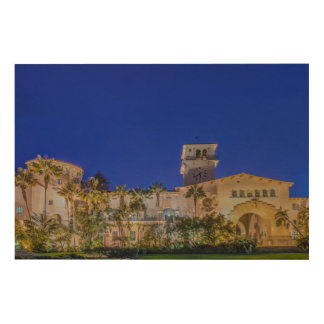 USA, California, Santa Barbara Wood Wall Art