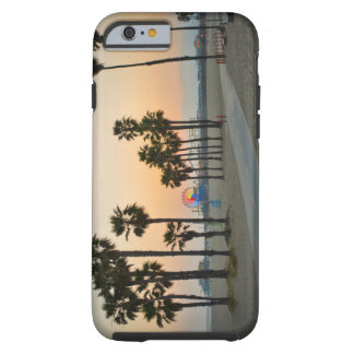USA, California, Santa Monica Pier at sunset Tough iPhone 6 Case
