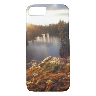USA, California, Sierra Nevada Mountains. Sunset iPhone 8/7 Case