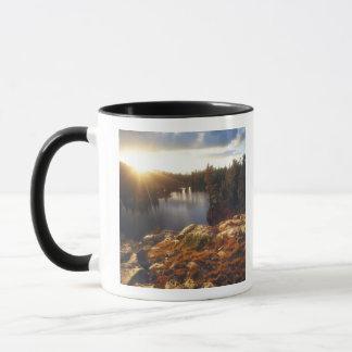 USA, California, Sierra Nevada Mountains. Sunset Mug