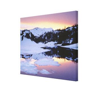 USA, California, Sierra Nevada Mountains. The Canvas Print